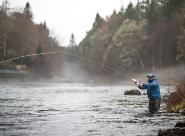 Opening day - River Moriston